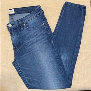 Hudson Jeans Blue Skinny Jeans  Sz 27